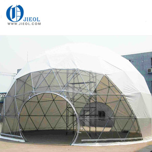 JIEOL Supply all kinds of high quality diy geodesic dome greenhouse