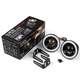 Universal High Quality Source Angel Eyes Headlights Car DRL Colorful Led Fog Lamp