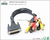 High speed DB25 to RCA cable For Monitor