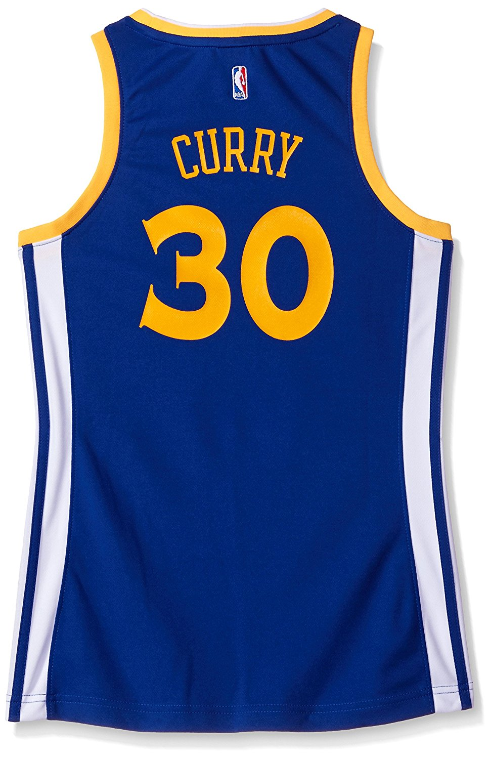 Get Quotations · NBA Golden State Warriors Stephen Curry  30 Women s  Replica Jersey 74ce1b274