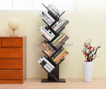 Modern Simple Creative Bookshelf Landing Tree