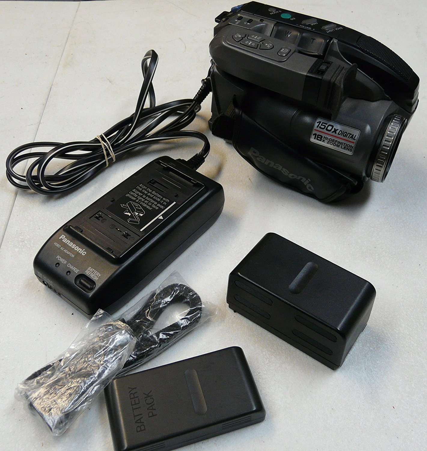 Buy Panasonic Pv L580d Compact Vhs Vhs C Palmcorder Camcorder Bundle In Cheap Price On Alibaba Com