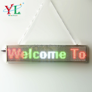 programmable led moving sign bluetooth control