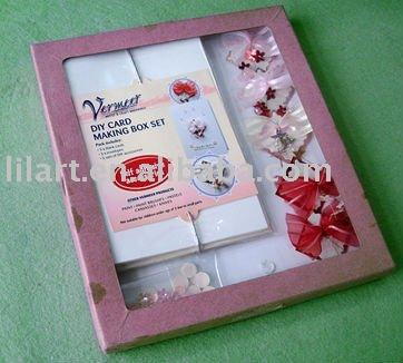 Diy Card Making Box Set /greeting Card/ Make Your Own Card/paper ...
