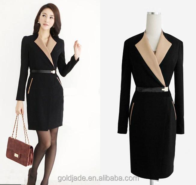 Las Office Wear Designs Long Skirt