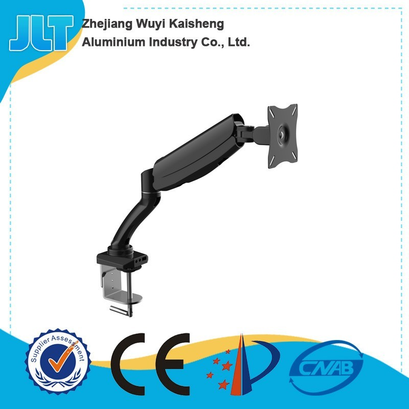 Single Monitor Display Mounting Arm with 3 USB