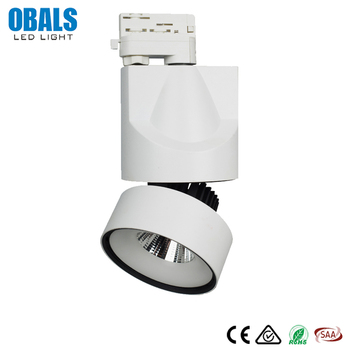 Modern Design Mini 6W 9W 12W 14W 21W Movable Middle Frosted Glass Metal LED Track Lighting