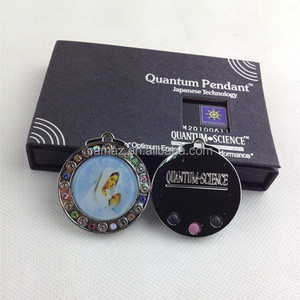 Manufacturer healthy jewely quantum scalar energy pendant with ions
