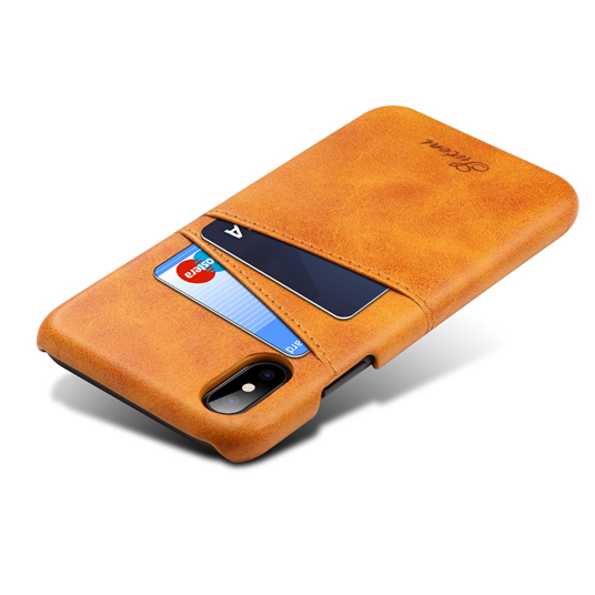 Leather Case with Card Slot For iPhone X Case Phone Cover Leather Phone Case