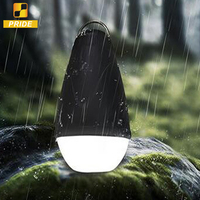 Portable Water resistant LED Camping Lamp with Remote Control Outdoor Tent Lantern