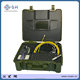 skids & keyboard & DVR function & 512HZ transmitter high efficiency cctv pipe inspection camer V7-3188DT