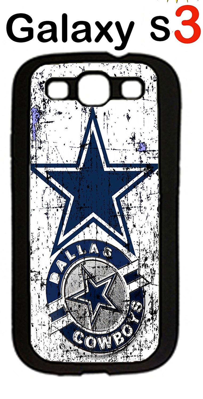 6c1c9f94e53d6c Get Quotations · Dallas Cowboys Samsung Galaxy S3 Case Hard Silicone Case