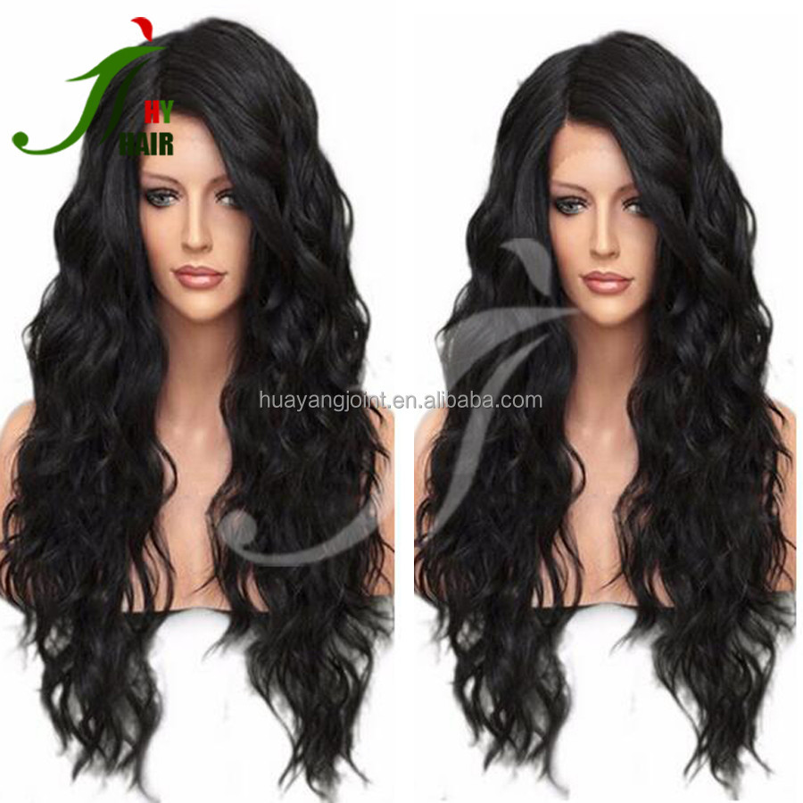 Bleach Knots Lace Front Wig Human Hair Wet and Wavy Peruvian Virgin Hair Full Lace Wig with Side Part for Black Women