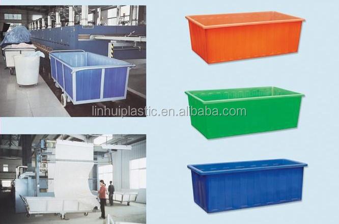 1000liter Aquaculture Tanks Live Fish Container Plastic