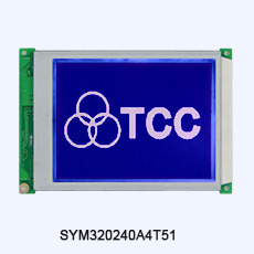 TCC(320240B7V351) 5.7 inch dot matrix screen module 5v RA8835 fstn 320x240 graphic lcd display