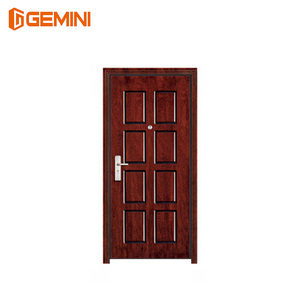 Best quality modern armored security single leaf the front doors