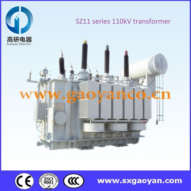 110kV Oil immersed transformer three winding on load changer