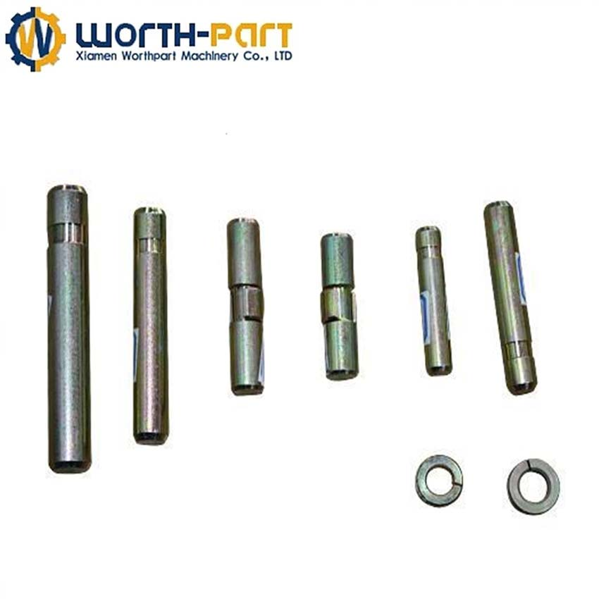 excavator track pin and bushing bulldozer spare parts pin and bushing bucket pin and bushing