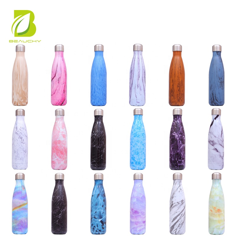 Alibaba.com / 500ml Cola Shaped Water Bottle Custom OEM Eco-Friendly Stainless Steel Insulated Water Bottle