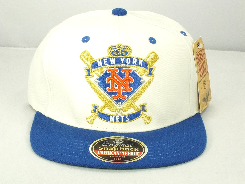 Get Quotations · New York Mets Mlb original snapback cap by american needle  (D19) ed86905cb6d