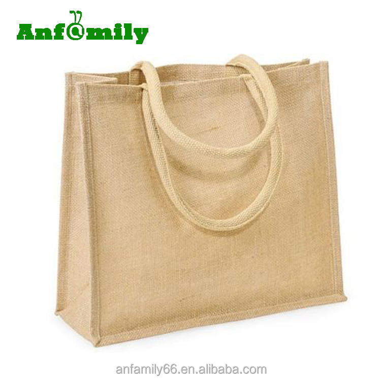 Recycled Foldable Hemp Bags Jute Ping Tote Bag Whole Product On Alibaba