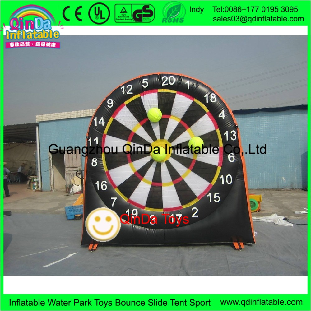 4572737b3 Altura De 5 M Esportes Jogos Gigante Dartboard Inflável Com ...