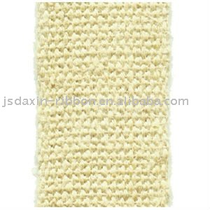Wide and thick manufacturing jute webbing
