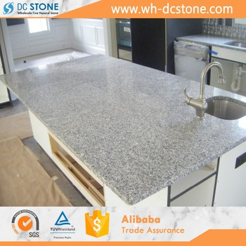 Polished G603 Pearl White Granite Kitchen Countertop & Vanity Top