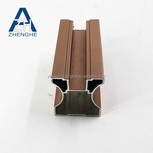kitchen cabinet/sliding door/furniture/home interior gold anodized handle aluminum extrusion profile
