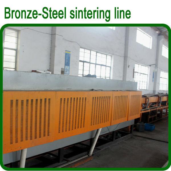 Bande bimétallique en alliage de bronze en acier, plaque bi-métal pour bague, feuille bimétallique de douille de roulement
