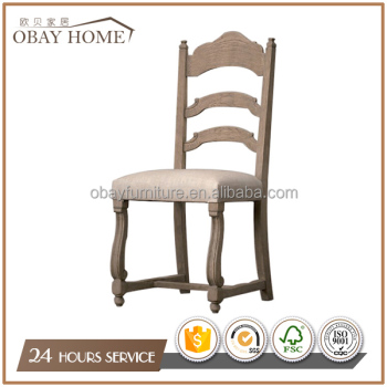 Antique American Indoor Dining Room Furniture Solid Wood Design Dining Chairs Hot sales