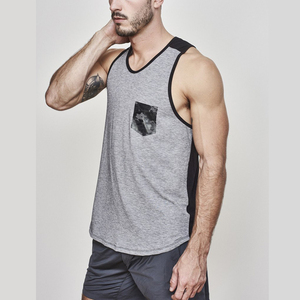 wholesale Gym/training 100% cotton stringer/singlet/tank top/vest body building clothing