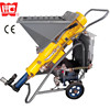 22L/min Mini plastering pump for gypsum mortar plastering, floor screed