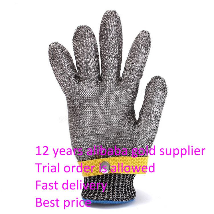 Back To Search Resultssecurity & Protection Safety Gloves Fast Deliver Cut Resistant Gloves Stainless Steel Wire Safety Work Anti-slash Cut Static Wear-resisting Protect Gloves Hand Safely Security