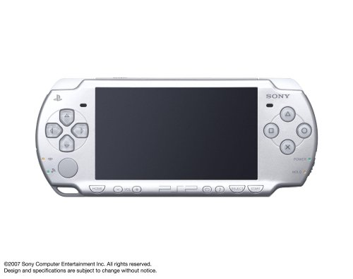 Sony PSP Slim & Lite PSP-2000IS - Handheld Game Console - Ice Silver 【Japan Import】