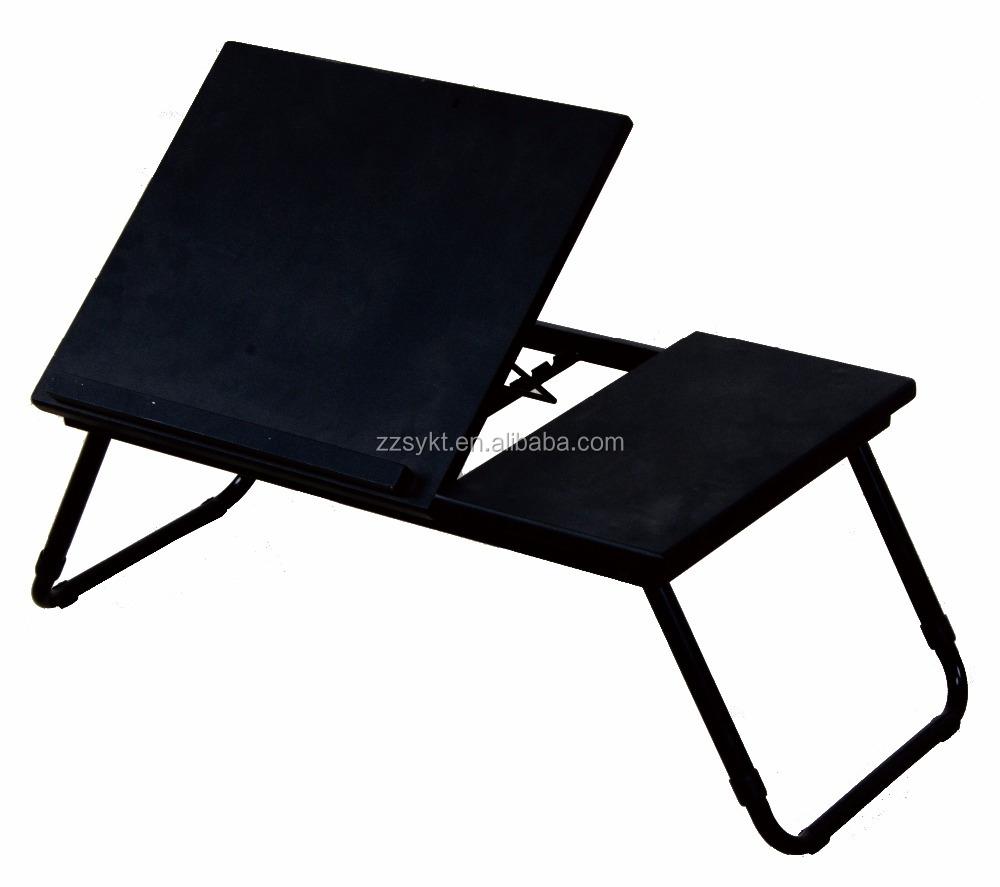 - Höhenverstellbar Hölzernes Metallklapp Computer Desk Laptop Tische