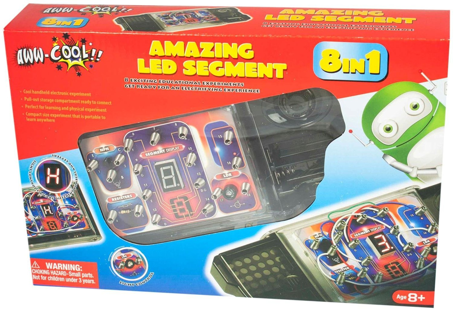 Cheap Circuit Board Kits Find Deals On Line At Learn About Boards Led Segment 8 In 1