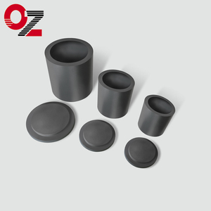 China supplied carbon graphite crucible for melting cast iron
