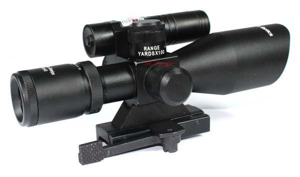 Vektor optik seitenhieb grünen laser entfernungsmesser