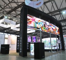 advertising beautiful exhibition stall design