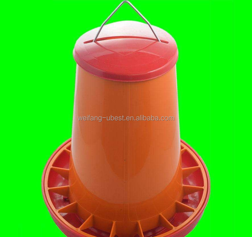 Automatic livestock plastic feeders and screw feeders