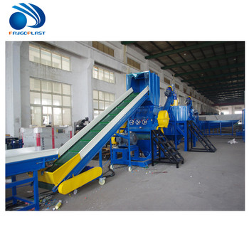 High density and cheap price PET Bottle Blowing Waste Plastic Recycling Machine