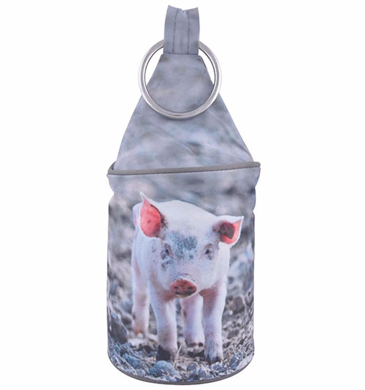 Esschert Design Nature Print Farm Animal Cute Pig Prints Sand Door ...