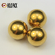 Solid brass balls red copper balls