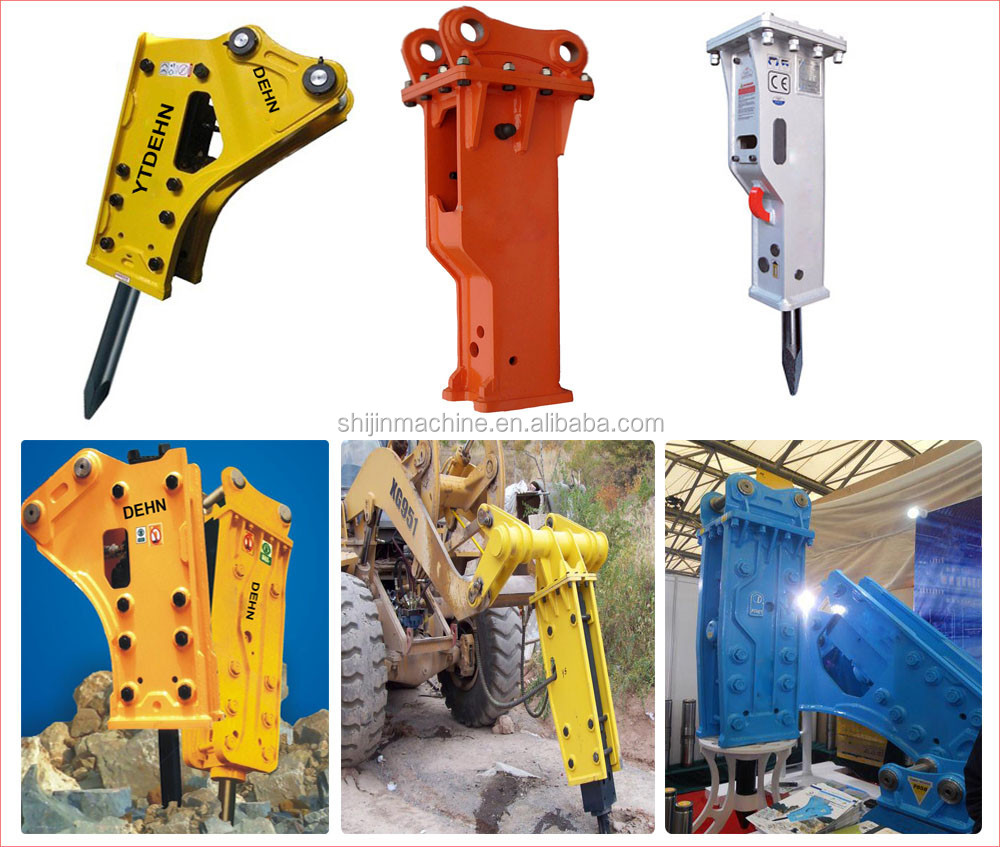 construction machinery soosan hydraulic breaker