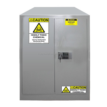 90 Gallon Metal Industrial Safety Storage Cabinet For Hazardous Materials,  Narcotic ,Drug /gray