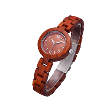 Hight quality export ebony sandal wood watch for women