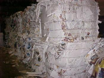 Baled Waste Paper - Overissue News