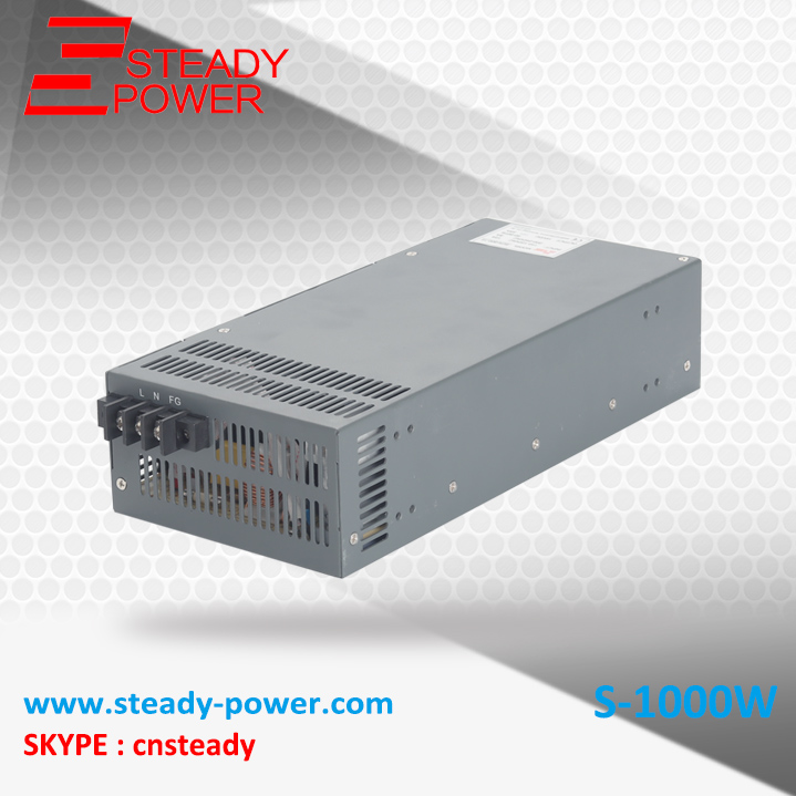 1000w stable dc voltage source 80a 12 volt dc regular switching power supply