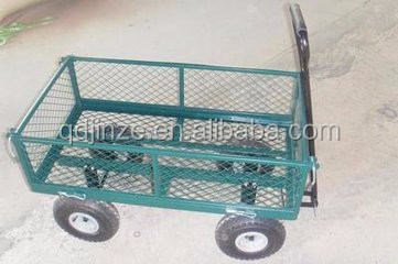 Yellow Garden Wagon Cart, Yellow Garden Wagon Cart Suppliers And  Manufacturers At Alibaba.com